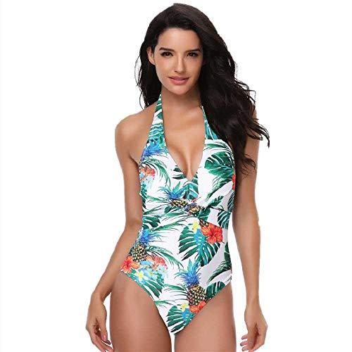 YANGPANGZI Europäische und amerikanische Badebekleidung Bikini sexy Einteilige Badeanzug Frauen