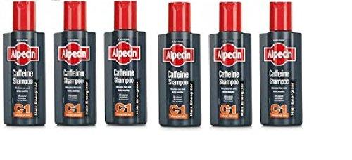 Alpecin Coffein-Shampoo C1 Haar Energizer (250 ml) - Packung mit 6
