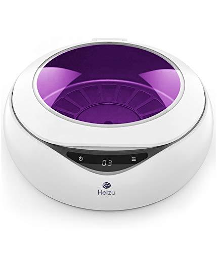 Esterilizador UV, rotación 360° integrada con cargador inalámbrico. Esterilizador ultravioleta de uso diario tasa 99.9% Desinfectante mascarillas, móvil, chupetes, herramientas de maquillaje. By Helzu
