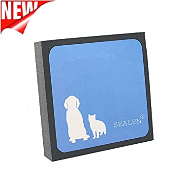 SEALEN Pet Hair Cleaner, Reusable Hair and Lint Remover for Pet Dogs Cats,Pet Brush Hair Erasing for Bedding Carpets Car Seats Clothing