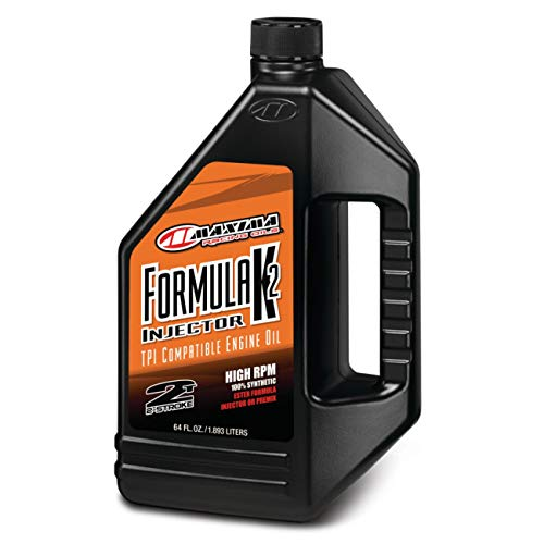 Maxima (22964 Formula K2 2-Takt Synthetisches Premix Racing Öl – 60 Unzen)