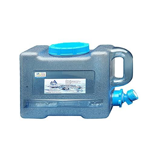 Facynde Contenedor De Agua Portátil, Cubo De Agua De Alta Capacidad con Almacenamiento De Grifo Bucket Walket Bucket Lavado De Autos Cubos De Equipo para Viajes Al Aire Libre