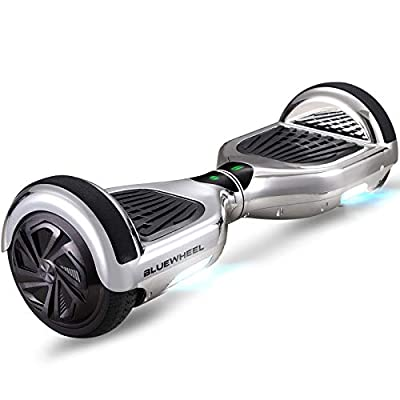 """Bluewheel 6.5"""" Self Balancing Hover Scooter Board with UL2272 Safety Standard -Kids safety mode with App -Bluetooth speaker -700W engine - LED - Electric Skateboard HX310s"""