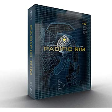 Pacific Rim [Édition Titans of Cult-SteelBook 4K Ultra HD + Blu-Ray + Goodies]