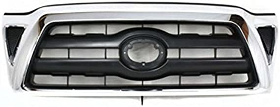 Koolzap For 05-10 Tacoma Truck Front Grill Grille Assy Chrome Frame TO1200268 5310004360