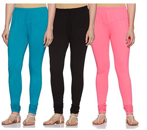 Vami Women's Leggings (VM1001_87_Magic Pink_Free Size)
