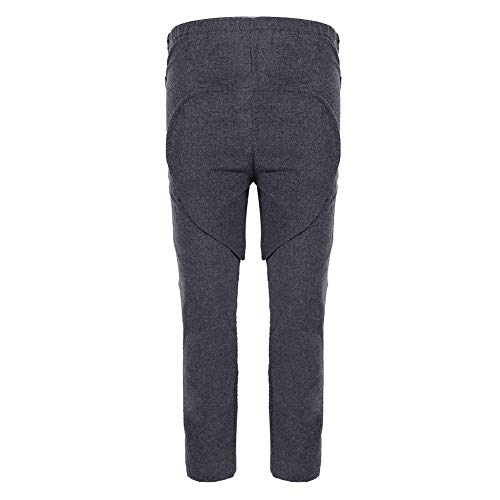Incontinence Pants, Incontinence Care Trousers with Detachable Crotch Can Enhance The Efficiency of Caring Incontinence People Or Elderly and Prevent Embarrassed Scene (XL)