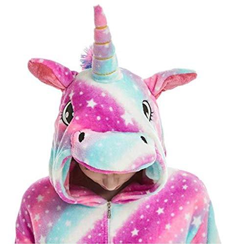 JXUFUFOO Pyjama Enfant Combinaison de Nuit Animaux Déguisement Cosplay Fille Garçon,Licorne...