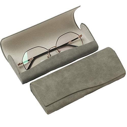 超軽量メガネケース おしゃれ サングラスケース ハードケース シンプル グネット式 レディース メンズ かわいい