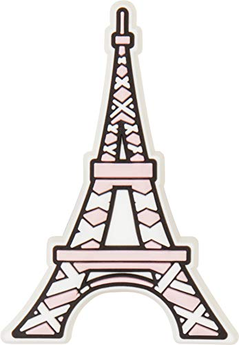 Crocs Eiffel Tower Shoe Decoration Charms, Multicolour (Multicolour), One Size