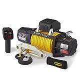 Smittybilt 98510Y X2O Gen2 10,000 Pound Wireless Waterproof Synthetic Rope Winch