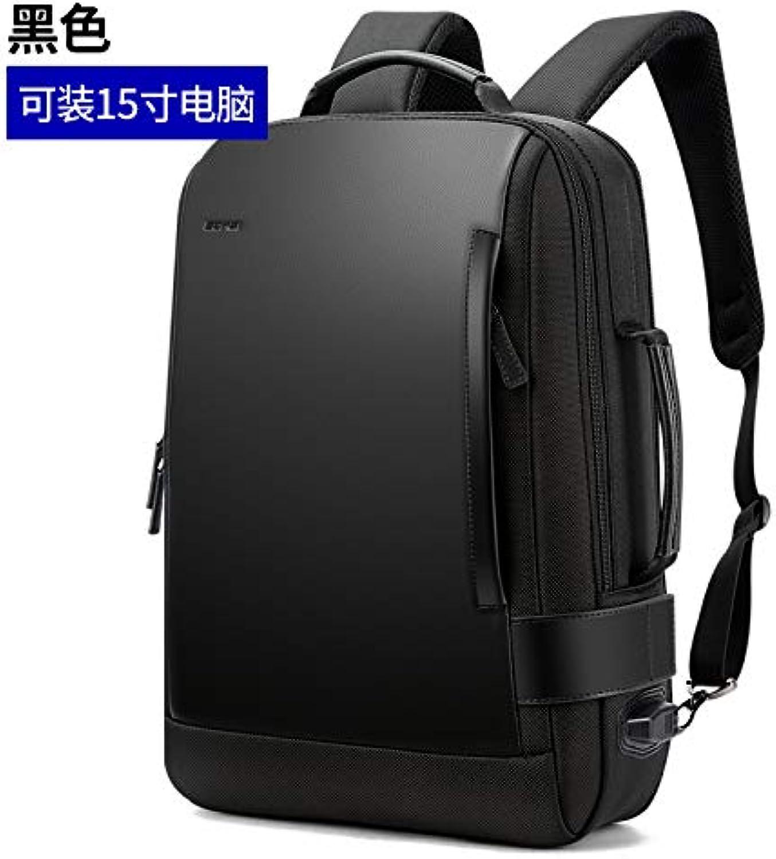 BOPAI Bo Brand Computer Backpack Male Outdoor Travel Leisure Shoulder Bag Business Bag Travel MultiFunction Men's Bag
