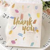 グリーティングカード創造的な教師ギフト感謝祭感謝教師メッセージカード09