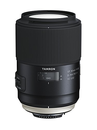 TAMRON 単焦点マクロレンズ SP90mm F2.8 Di MACRO 1:1 VC USD ニコン用 フルサイズ対応 F017N【シフトブレ...