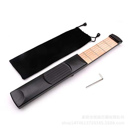 Pocket Gitaar zes producten Draagbare Gitaar Trainer vinger akkoord veranderingen die dwingen trainer oefenen piano zak Scheepvaart