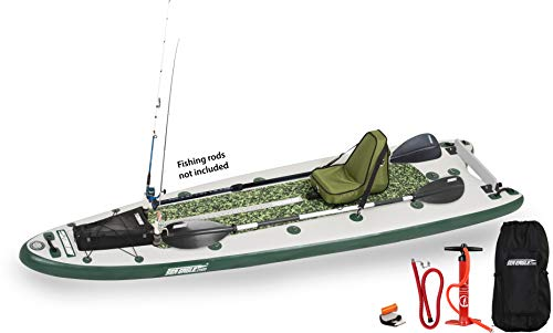 Sea Eagle FishSUP 126 Inflatable Fishing Stand-up Paddleboard