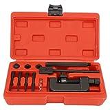Leku Disjoncteur de chaîne de vélo-disjoncteur de chaîne séparateur de Lien riveteuse Kit d'outils de réparation de rivetage pour Moto vélo