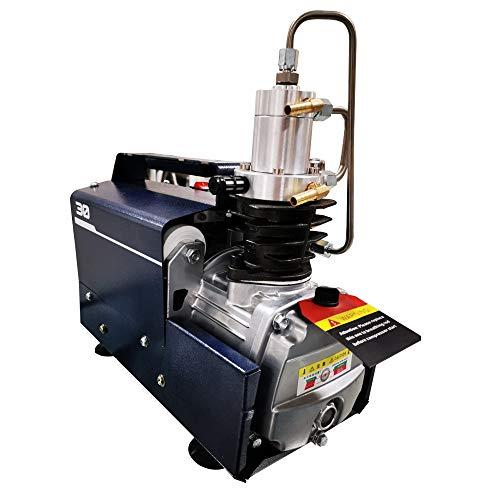 YUYAO Compresor de Aire, Presión Variable Parada automática 300BAR 4500PSI Bomba de Aire de Alta presión Mini eléctrico
