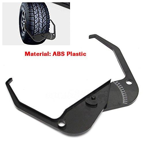 Ting Ao Coats Kit d'outils de mesure de la largeur de jante pour équilibrer les pneus, convient pour les machines d'équilibrage des pneus.