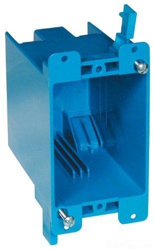 Lamson B120R Carlon PVC Outlet Box, Pack of 3