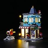 Nlne Kit De Iluminación Led para Lego Creator - Tienda De Juguetes 3 En 1 Clásica,Compatible con Ladrillos De Construcción Lego Modelo 31105, NO Incluido En El Modelo