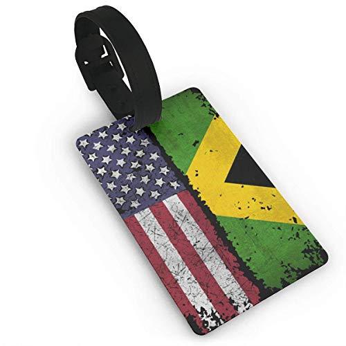 Amerikanische Jamaika Vintage Lage Tag Kreuzfahrt Travel ID Tags PVC für Taschen Koffer