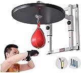 Heavy Duty bolsa ajustable velocidad de la plataforma, Puñetazo Velocidad bolsa de stands de boxeo ajustable respuesta del objetivo bola colgante velocidad Speed Rack bola boxeo bola rack Pull-Up
