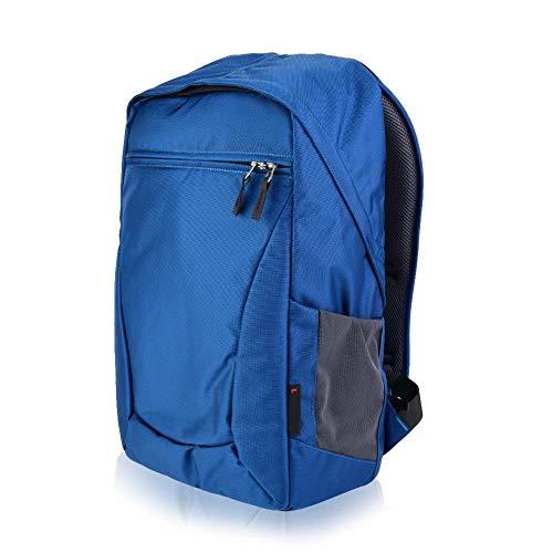 Cameratas rugzak, waterdichte anti-diefstal nylon tas, fotografie rugzak met grote capaciteit (Geschikt voor 2 statieven/monopods/klimstokken, 1 camera, 5 lenzen)(Blauw)