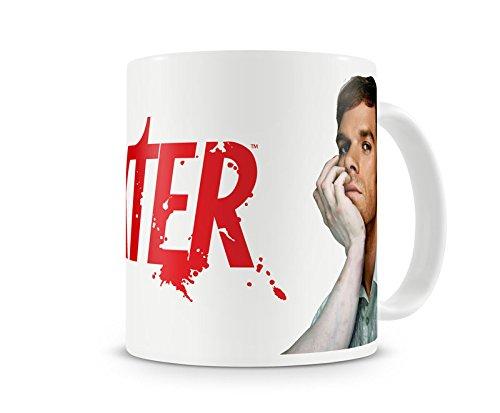 Offizielles Lizenzprodukt Dexter Kaffeetasse, Kaffeebecher