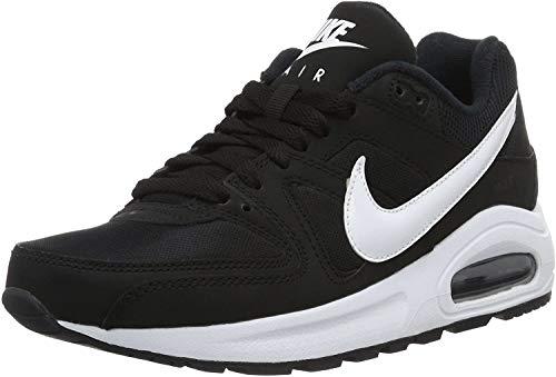 Nike Jungen Air Max Command Flex (Gs) Laufschuhe, Grau, Black (Schwarz / Weiß Weiß), 38 EU