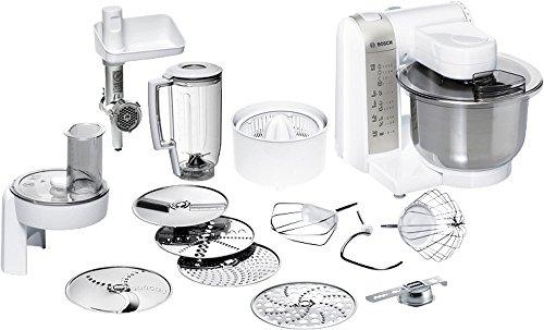 Bosch Robot de cocina blanco/acero inoxidable mum48140de, 600W