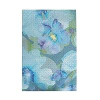 パズルWatercolor flowers floral 1000ピース 木製パズルミニ 大人の減圧 絶妙な誕生日プレゼント