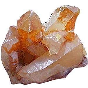 Tangerine Quartz Miniature Cluster
