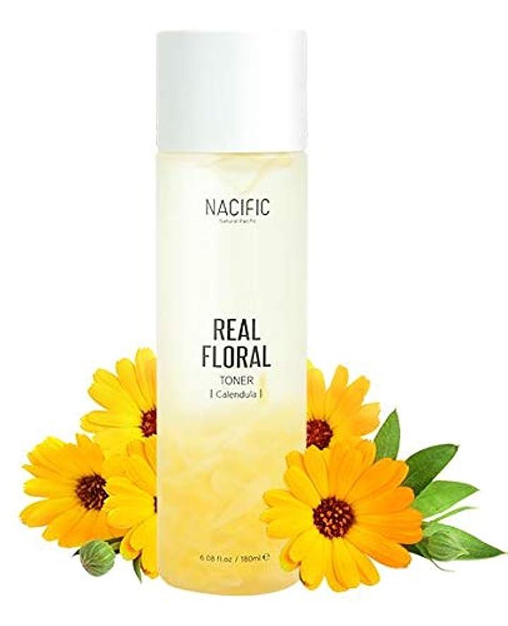 従順柔らかい足なぞらえる[Nacific] Real Floral Toner(Calendula) 180ml /[ナシフィック] リアル フローラル トナー(カレンデュラ) 180ml [並行輸入品]