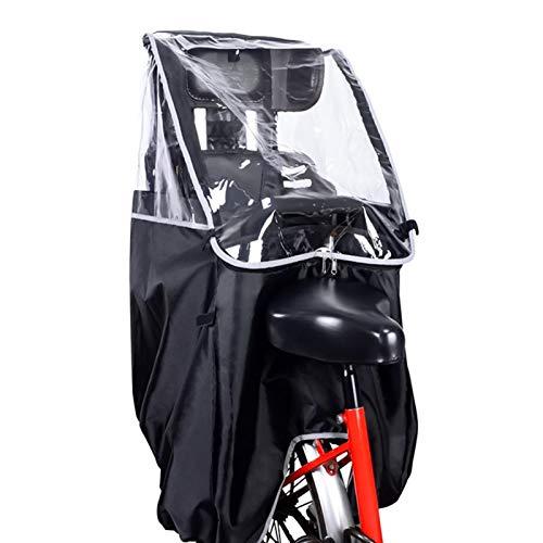 iBaste Regenschutz für Fahrradsitze für Kinder, Regenschutz für Fahrradregen Atmungsaktiver, langlebiger Regenschutz für Fahrräder für Kindersitze