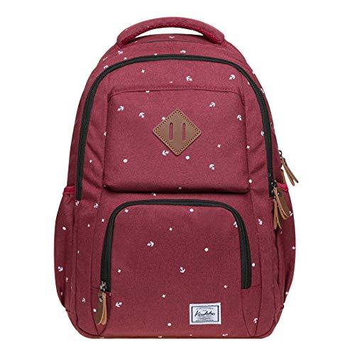 KAUKKO Studenten Backpack für Mädchen Jungen & Kinder Schulrucksack für 12 Zoll Laptop, 30 * 15 * 42 cm, 18.9 L