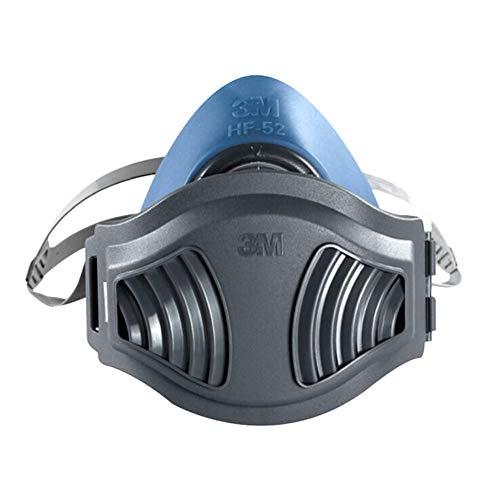 Wendao Mascarillas de silicona antipolvo con almohadillas de filtro Protector de polvo Purificación de aire