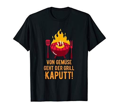 Von Gemüse Geht Der Grill Kaputt Dutch Oven Chef-Koch BBQ T-Shirt