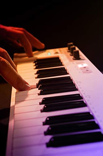 Keystep - Polyphonic Step Sequencing Keyboard Controller - Arturia | 32 Slim Keys, USB, MIDI, CV/GATE INPUT, Arpeggiator and Polyphonic Sequencer