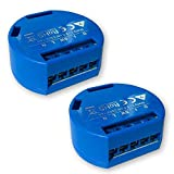 Shelly One 1 Switch Relay Wireless WiFi Home Automation Android Application iOS (Pack of 2)