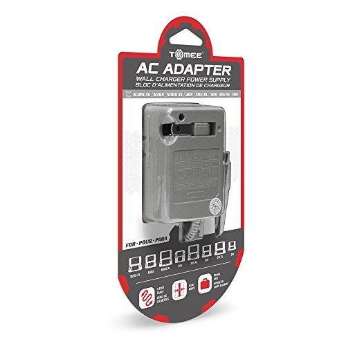 AC Adapter for New 3DS/New 3DS XL/2DS/3DS XL/3DS/DSi XL/DSi - Tomee by...