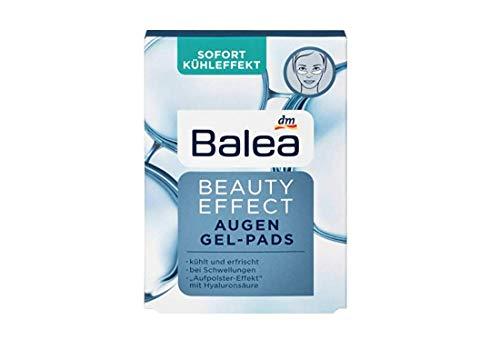 Balea Beauty Effect Lot de 3 paquets de 2 coussinets de gel pour les yeux