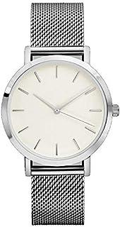 ساعة ساوث لاين سويسرية كوارتز بسوار جلد عجل, اسود 20 (الموديل: SS20-dr1-4596)