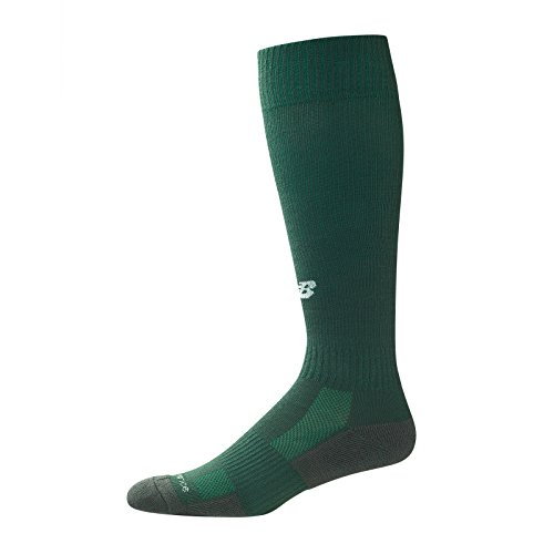 New Balance Kids Over The Calf for All Sports Socks 1 Pair, M 7.5-9 / W 6-10, Hunter Green