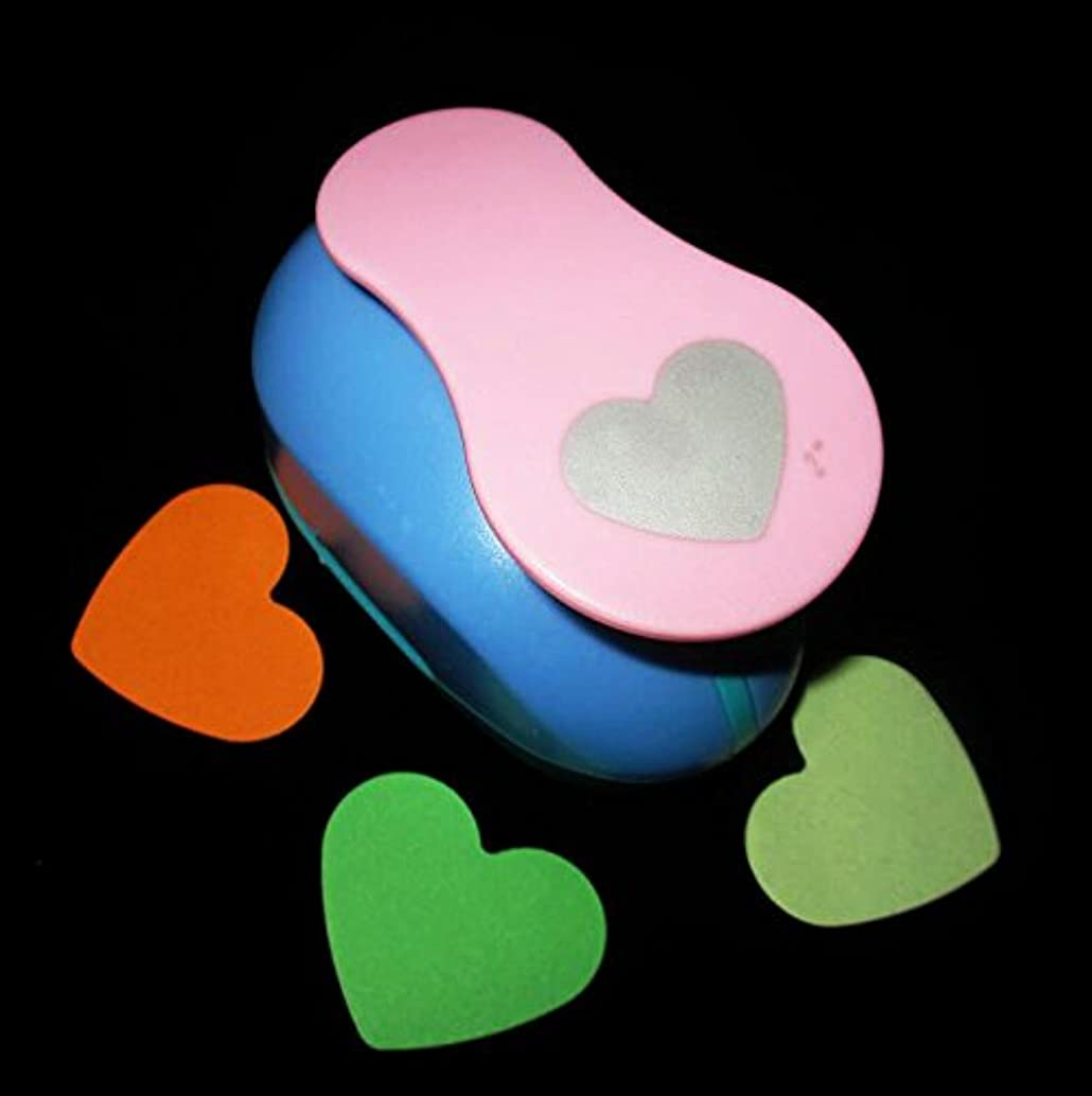 21 Style 2-Inch Heart design Handmade Crafts Scrapbooking Tool Paper Punch For Photo Gallery DIY Gift Card Punches Embossing device Stamping (Heart)