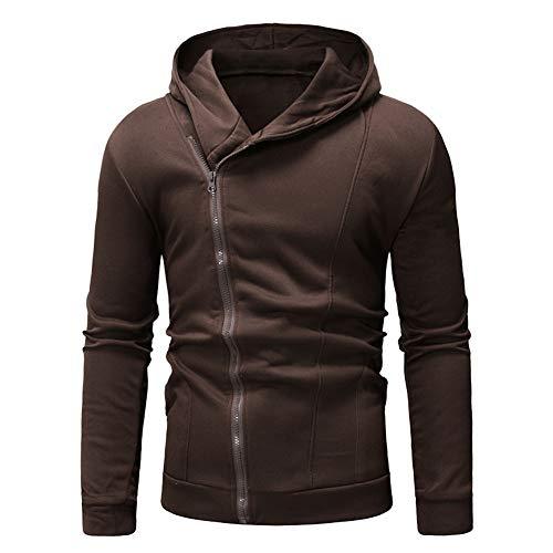 Jaromepower Men's Long Sleeve Autumn Winter Casual Sweatshirt Hoodies Coat Tracksuits Jacket New Jersey