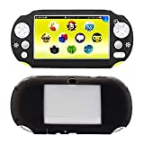 SNNC Playstation Vita 2000 Silicon Full Cover Skin Protector Case for PSV2000 (Black)