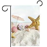 庭の装飾の屋外の印の庭の旗の飾りサマービーチのヒトデの貝殻 テラスの鉢植えのデッキのため
