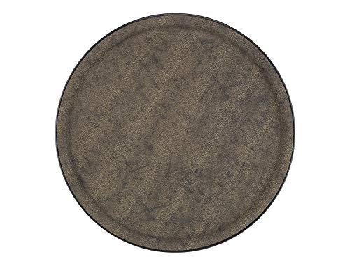 PLATEX 90036824 Plateau Plastique-GALUCHAT Moka, Marron, 36cm