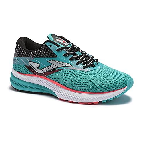 JOMA Victory Lady 2115, Zapatillas de Running para Mujer, Turquesa/Negro, EU 36